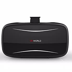 3D VR Glasses,ELEGIANT Smart Virtual Reality Headset Goggles Box for iPhone,Samsung, Android and 3.5-6.0 inch Smartphone for Video Movies Games from ELEGIANT