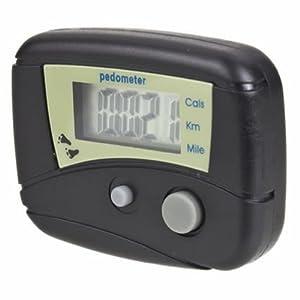 Generic Digital LCD Run Step Run Pedometer Walking Calorie Counter Distance Clip-on