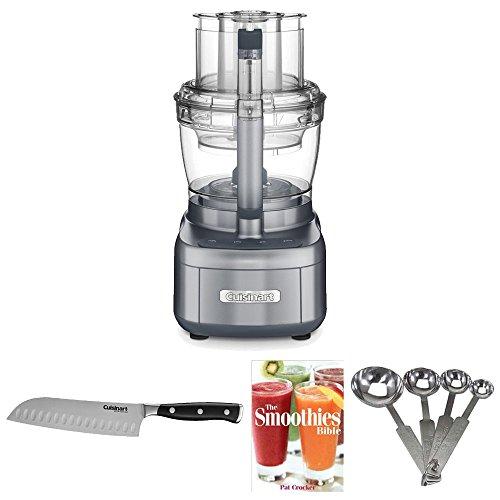 Cuisinart Elemental 13-cup Food Processor (Silver) Bundle (Cuisinart 13 Cup Food Processor compare prices)