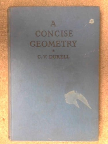 A Concise Geometry