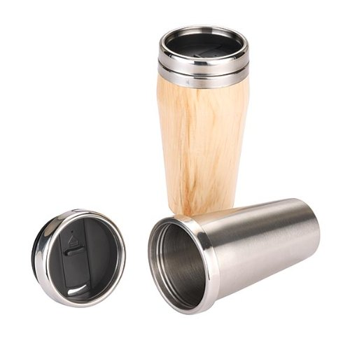 Woodturning Project Kit for 16oz. Stainless Steel Travel Mug