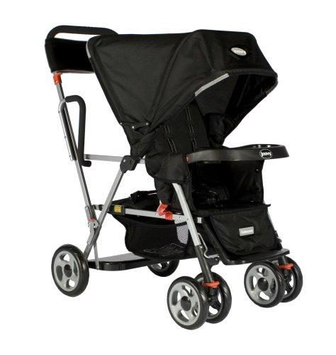 Joovy Caboose Ultralight Stand On Tandem Stroller, Black