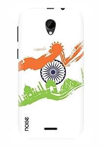 Noise Designer Printed Case / Cover for Intex Aqua Q7 / Nature / Monumental India Design