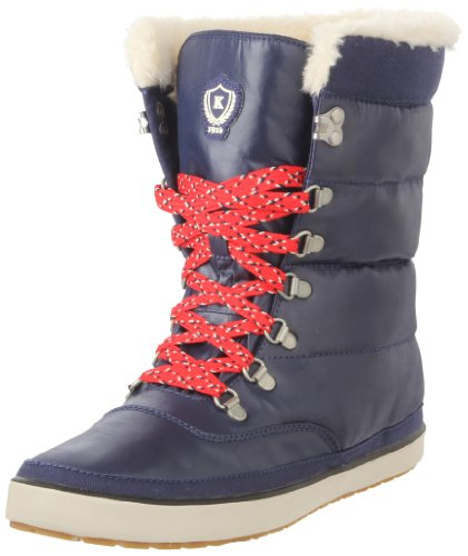 Keds Cream Puff Boot poppy red Ankle Boots Womens Blue Blau (navy) Size: 6 (39 EU)