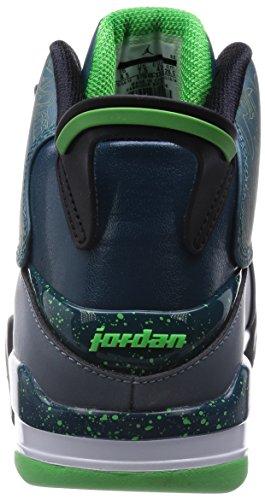9d18d80922a86b Nike Jordan Men s Air Jordan Dub Zero Teal Lt Grn Sprk Bl Grpht Blck ...