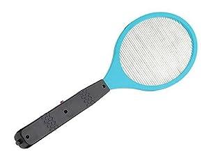 Raquette Electrique Tapette Anti Insectes Volants Mouche Moustique 2