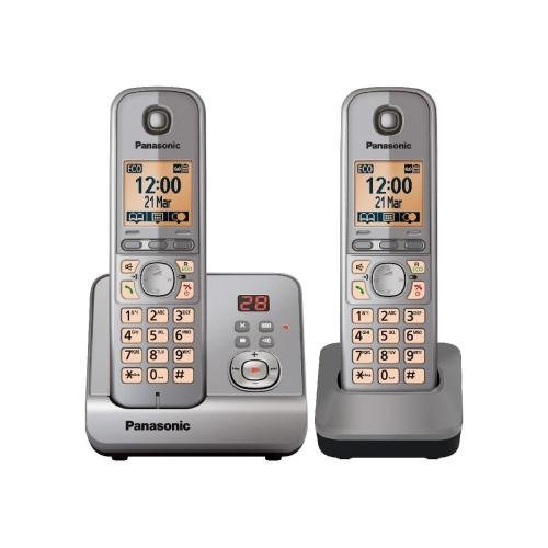 :Panasonic, Dect Phone With Answermachine Twin Silver Reviews