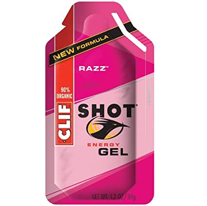Amazon.com: Clif Energy Gel Shot Raspberry -- 24 Packets: Health & Personal Care