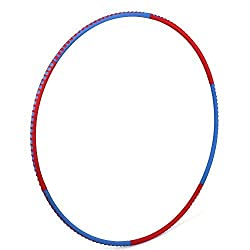 Amzdeal Weighted Hula Hoop-Two-tone