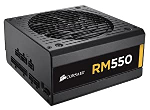 Corsair RM Series 550 Watt ATX/EPS 80PLUS Gold-Certified Power Supply - CP-9020053-NA RM550