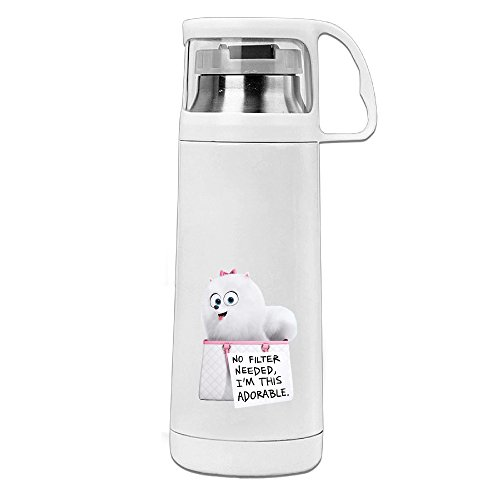 POY-SAIN The Secret Life Of Doggy Fashion Sport Water Bottle With Handle Vacuum Cup