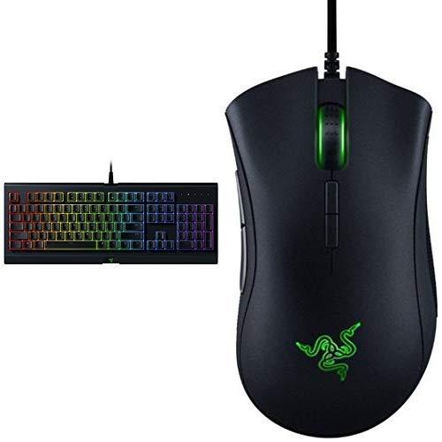 Razer Cynosa Chroma keyboard with DeathAdder Elite Mouse