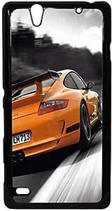 FCS Printed 2D Designer Hard Back Case For Sony Xperia C4 Design-20118