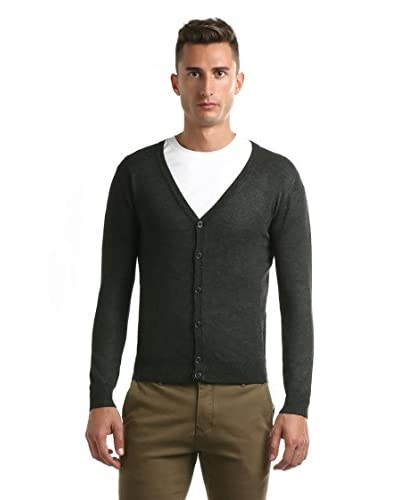 Hot Buttered Cardigan [Carbone]