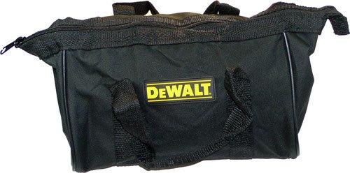 "DeWALT BLACK AND YELLOW 13 X 9 X 9/""  NYLON TOOL BAG FROM 18 VOLT DCK235C KIT NEW"