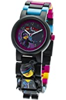 LEGO Movie Wyldstyle minifigure link watch children's quartz Watch with purple Dial analogue Display and multicolour plastic Bracelet 9009990