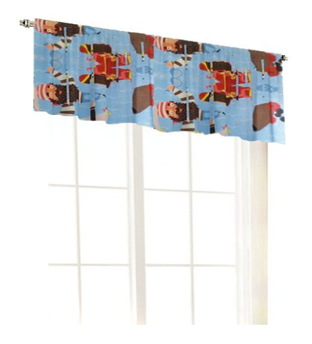 Room Magic Window Valance, Pirate Pals