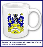 Crystal Family Coat of Arms Coffee Cup