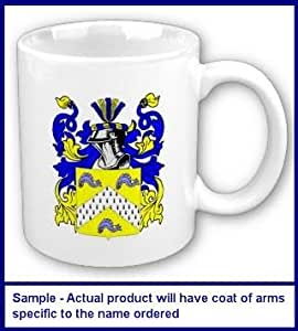 Renehan Family Coat of Arms Coffee Cup