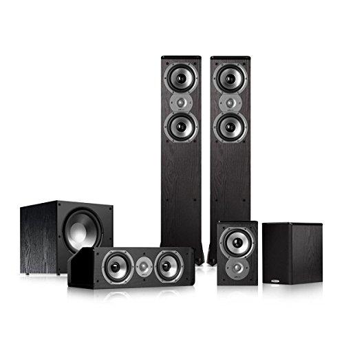 Polk Audio TSi300 5.1 Home Theater Speaker Package (Black)