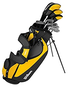 WILSON ULTRA Mens Right Handed Complete Pkge Golf Club Set w/ Bag + 12 Balls from WILSON