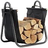 ShelterLogic 90391 Log Holder with Canvas Carrier