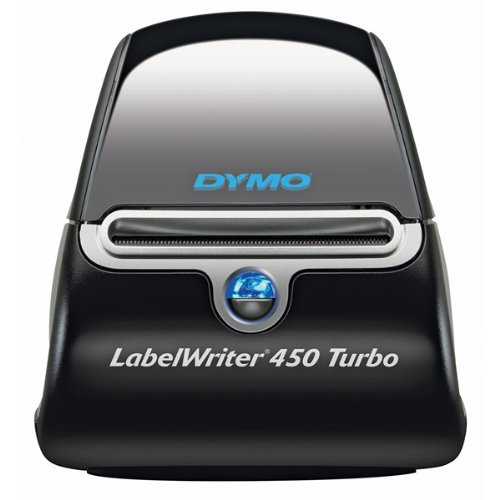 Brand New Dymo Labelwriter 450 Turbo High-Speed Postage And Label Printer For Pc And Mac