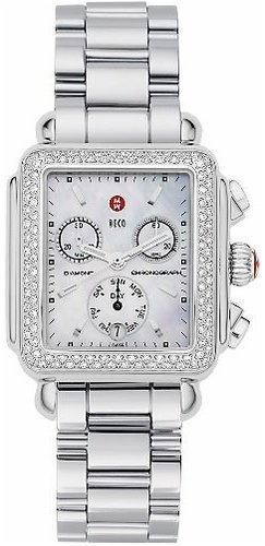 Michele Deco Day Diamond Ladies Watch MWW06P000002