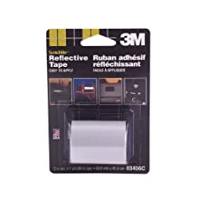 3M Scotchlite Reflective Tape, Silver, 2-Inch by 36-Inch