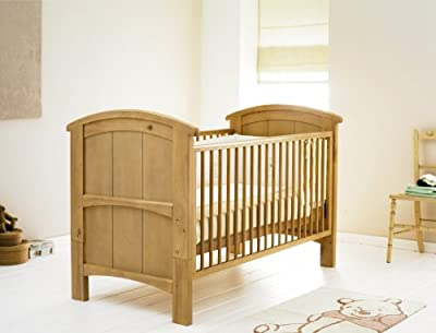 Cosatto Hogarth Cot bed-Light Country Pine + FREE Mattress
