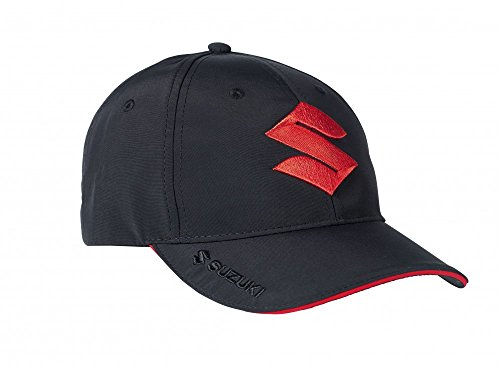 suzuki-black-and-red-baseball-cap