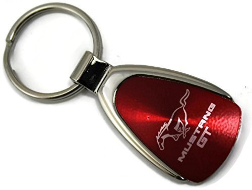 dantegts-ford-mustang-porte-cles-avec-logo-rouge-forme-de-goutte