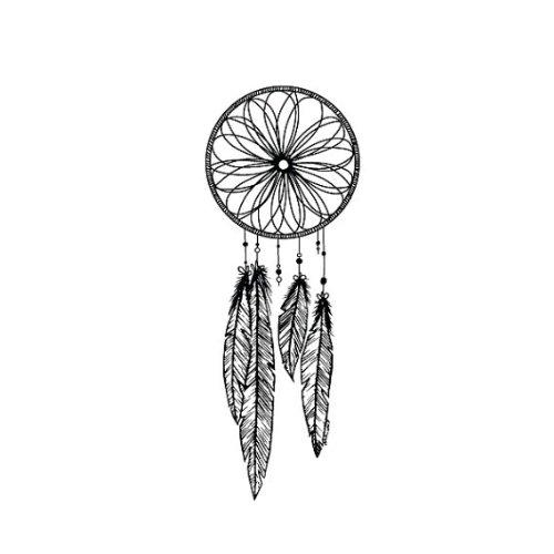Dreamcatcher Temporary Tattoo (Set of 2)