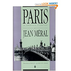 Paris in American Literature Jean Meral