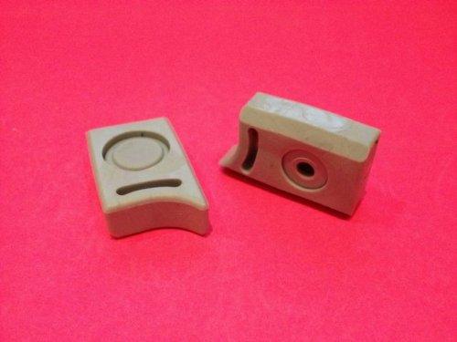 2 x Shower/Bathroom Door Plastic Rubber Stops Top and Bottom Right & Left L021