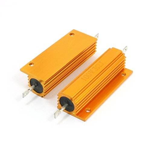 100w-3-ohm-ton-or-chassis-monte-coquille-en-aluminium-bardage-resistance-2-pieces