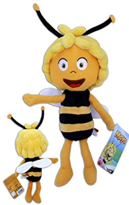 Maya the Bee8'' Plush Doll Cartoon Super Soft Toy New TV Series 3D Animation