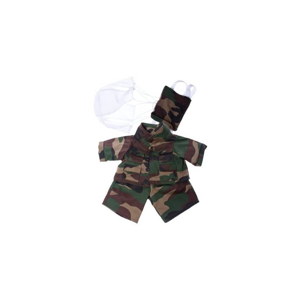Special Forces outfit Teddy Bear Clothes Fits Most 14   18 Build A Bear, Vermont Teddy Bears, and Make Your Own Stuffed Animals
