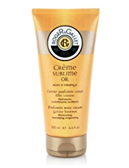 Roger&Gallet Bois Crème Sublime Gold Shimmer Body Cream 200ml
