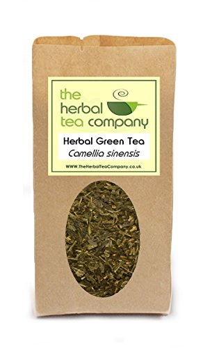 Mugwort Artemisia Vulgaris Green Tea Blend - With A Hint Of Orange - Free Infuser - Makes 60+ Cups
