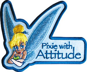 Amazon.com: Peter Pan Tinkerbell Pixie with Attitude Fairy ...