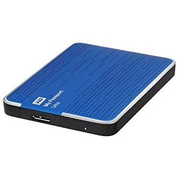 Disque dur externe WESTERN DIGITAL MY PASSPORT ULTRA WDBPGC5000ABL BLEU 500GO