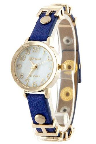 Karmas Canvas Love Hope Charm Watch (Blue)