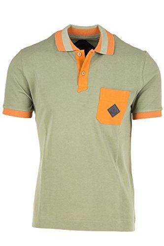 Moncler W polo t-shirt maglia maniche corte uomo verde EU XL (UK 42) 41 09H 8308800