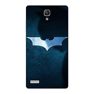 Premier Blue Knight Multicolor Back Case Cover for Redmi Note