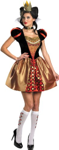 Sassy Red Queen Adult Costume - Small