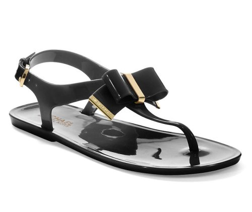 Michael Michael Kors Women'S Kayden Jelly Sandal (Black Jelly 7.0 M)