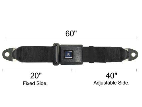 Gm Replacement Seat Belt, Gm Lap Belt, Universal Gm Seatbelt, Gray, 60 Inch, Gre front-675521