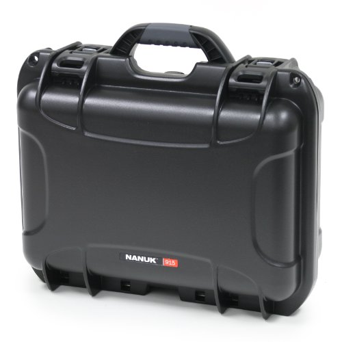 Nanuk 915 Case With Cubed Foam -Black