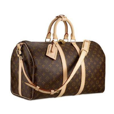 Louis Vuitton monogram canvas Keepall 55 Luggage M41414 (Louis Vuitton Clothes compare prices)
